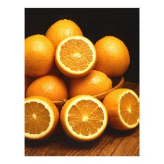 Naranjas Folleto 21,6 X 28 Cm