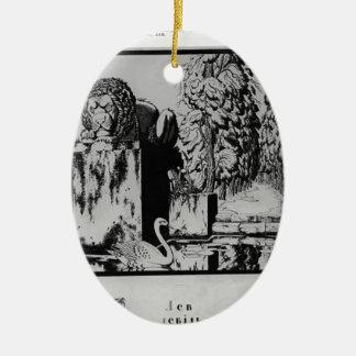 """Narbut-Hoja """"L"""" de Heorhiy del """"alphabet ucraniano Adorno De Reyes"""