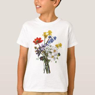 Narciso de Jean Louis Prevost y ramo del ranúnculo Camiseta