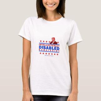 Narcissist intelectual lisiado camiseta