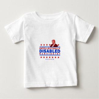 Narcissist intelectual lisiado camiseta de bebé