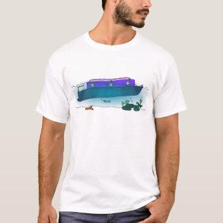 Narrowboat hundido camiseta