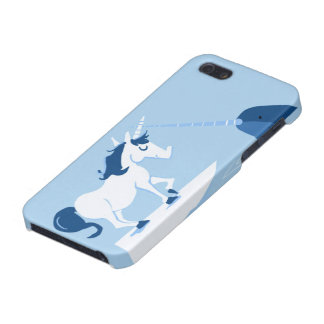 Narwhal y unicornio iPhone 5 protectores