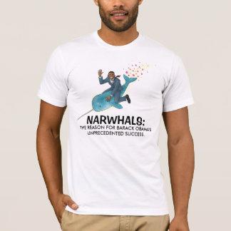 Narwhals para la camiseta de Obama