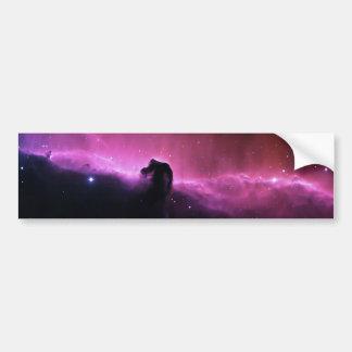 NASA de Barnard 33 de la nebulosa de Horsehead Pegatina Para Coche