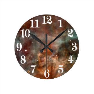 NASA de la mirada del mármol de la nebulosa de Reloj Redondo Mediano