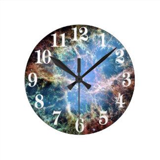 NASA de la supernova de la nebulosa de cangrejo Reloj Redondo Mediano