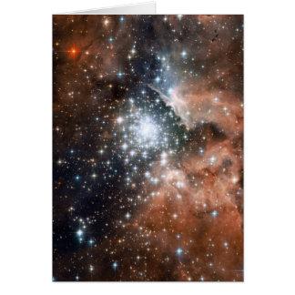 NASA - Imagen completa de Hubble ACS de NGC3603 Tarjeta