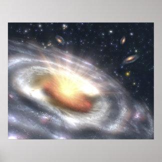 NASAs que estalla con la NASA de las estrellas y d Impresiones