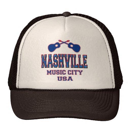 Nashville, ciudad los E.E.U.U. de la música Gorro De Camionero