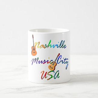 Nashville - ciudad los E.E.U.U. de la música Taza De Café