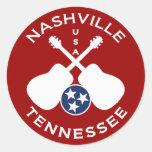 Nashville, Tennessee los E.E.U.U. Pegatina