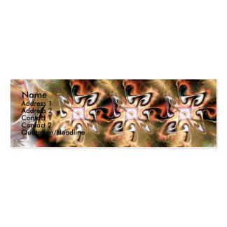 Nata del la del kiwi, tarjetas de visita mini