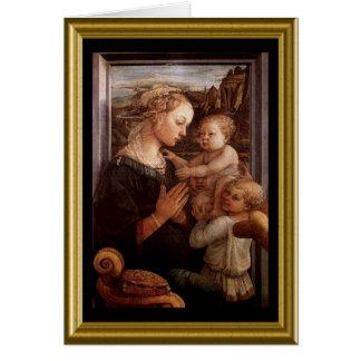 Natale de Buon - saludo Maria en italiano Felicitaciones
