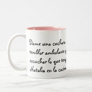 Natalia Taza De Café De Dos Colores