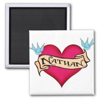 Nathan - camisetas y regalos de encargo del imanes