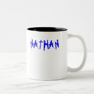 NATHAN TAZA DE CAFÉ DE DOS COLORES