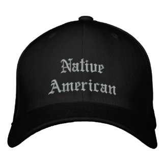 NativeAmerican Gorros Bordados