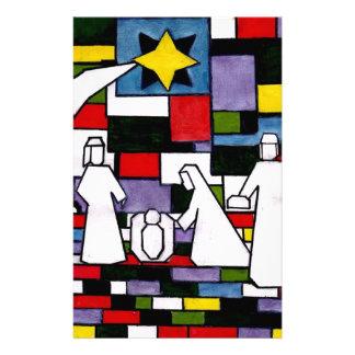 Natividad de Mondrian - de Stijl - Neoplasticism Papeleria