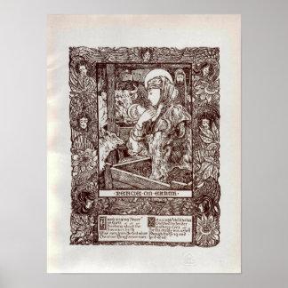 Natividad del navidad de Nouveau del arte (1898)