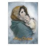 Natividad del navidad la tarjeta religiosa de Mado