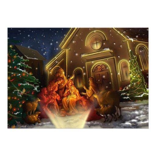 Natividad e iglesia - el nacimiento de Cristo Comunicado