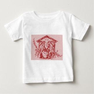 Natividad roja camiseta