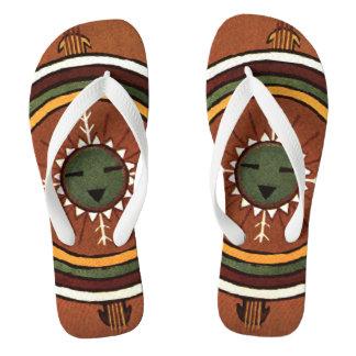 Nativo americano Sandpainting de Powalawu Chanclas
