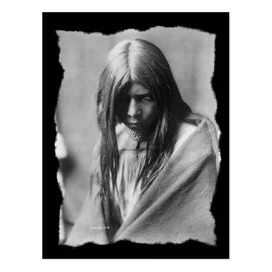 Nativo americano Zosh Clishn Apache del vintage Postal