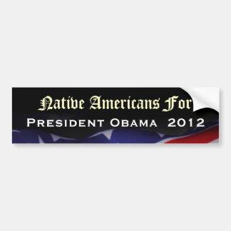 Nativos americanos para el pegatina 2012 de pegatina para coche