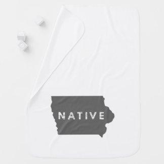 Natural de Iowa Mantita Para Bebé