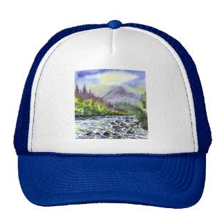 Naturaleza artística del destino de la pintura del gorras