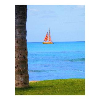 Naturaleza de Hawaii Flyer A Todo Color