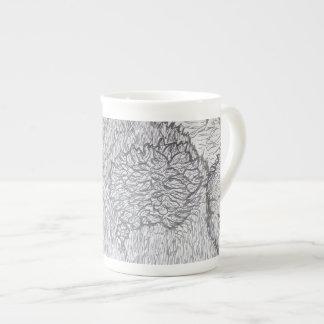 Naturaleza de la taza del oso taza de porcelana