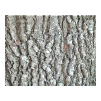 Naturaleza de madera real Camo de la corteza de Tarjeta Publicitaria