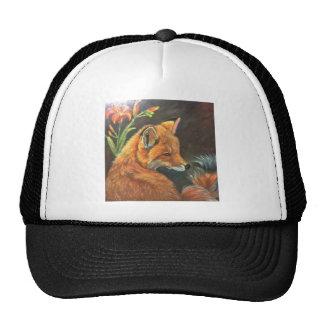 naturaleza del arte de la mano de la pintura de la gorras