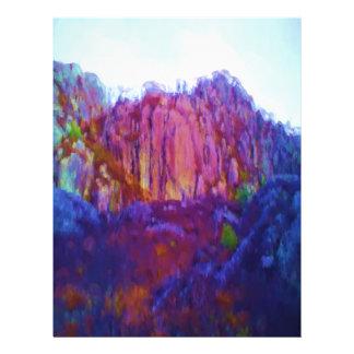 Naturaleza y montaña tarjetas publicitarias