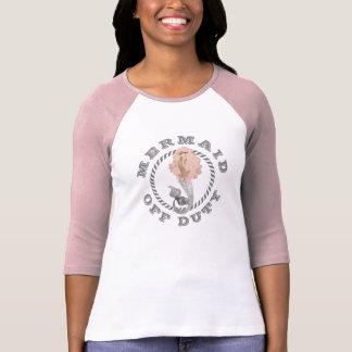 Náutico fuera de servicio femenino de la sirena camiseta