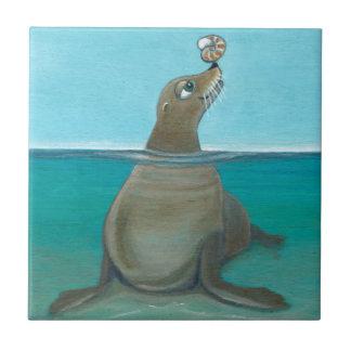 """""""Nautilus"""" el león marino Azulejo"""