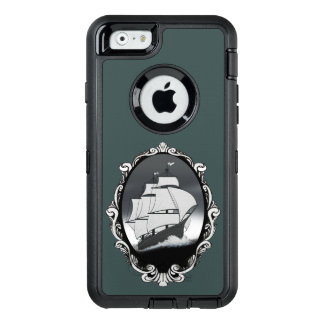 Nave capítulo en la caja del agua funda OtterBox defender para iPhone 6