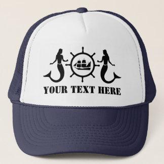 Nave de encargo de las sirenas de Nautic del texto Gorra De Camionero