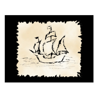 Nave de pirata postal