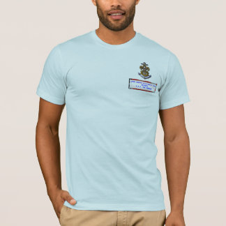 "Nave del explorador de mar ""la venganza "" camiseta"