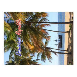 Nave en la República Dominicana de Las Terrenas Postal