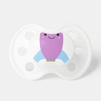 Nave púrpura linda de Rocket Chupete
