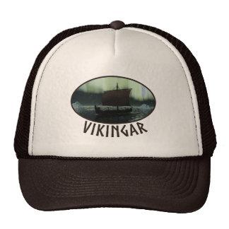 Nave y aurora boreal de Viking Gorra