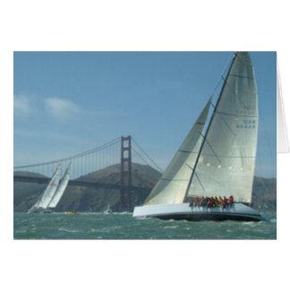 Navegación de la bahía tarjeta