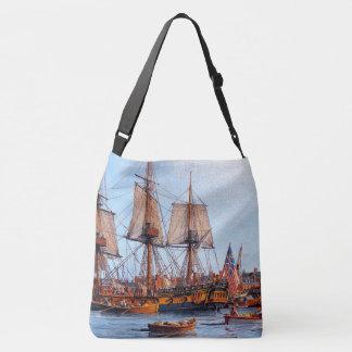 Navegación de la bolsa de asas Masted del puerto
