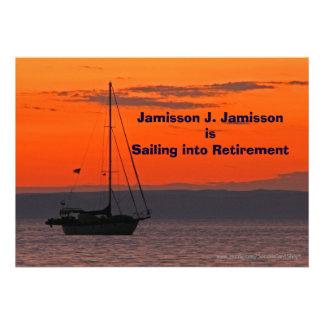 Navegación de la invitación del retiro en el retir