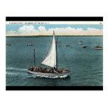 Navegación del fiesta Wildwood por el vintage 1934 Tarjetas Postales